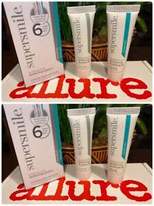 2 Supersmile Toothpaste + Accelerator Professional Whitening System 0.21 oz ea