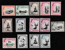 SWAZILAND 1961 SET, 14 VALUES,   MINT & FU