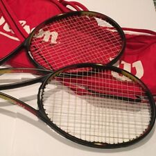 Wilson ProStaff Classic 6.1 si Tennis Racquet Bundle