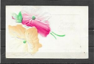 Antique1908 Embossed Divided Back Postcard of Birthday Greetings Mayville, WI