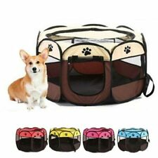 Portable Outdoor Indoor Kennel Fences Pet Tent House Foldable Playpen Puppy Cage