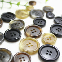 5Pcs Matte Resin Buttons DIY Sewing Craft Suit Coat Jacket Button 4Holes 15-25mm