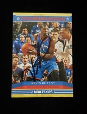 Autographed Kevin Durant Card NBA Hoops Franchise Greats Oklahoma City