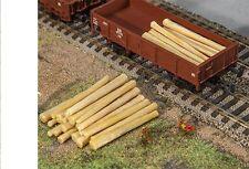 NEW HO Faller TWENTY (20) Bark-free STRIPPED LOGS : Model Detail KIT 180925