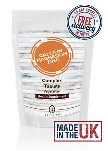 Calcium with Zink and Magnesium Tablets Complex - Pack of 250