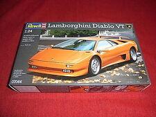Revell ® 07066 1:24 Lamborghini Diablo VT nuevo embalaje original