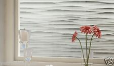 88 CM x 1 M - Sand Dunes Reapply/Reusable Static Frosted Window Glass Film