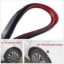 2x 117cm Arch Wide Fender Flare Extension Black Protector Lip Wheel-arch trim