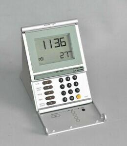 BRAUN FUNKWECKER FUNKUHR DB12 TIME CONTROL SILBER DIGITAL TYP 3875 Fach B2
