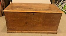 Local Pickup Antique Blanket/Dowry Chest/Trunk Wood Wooden Possibly Pine