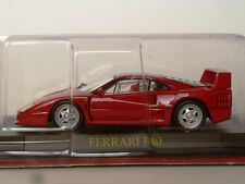 Ferrari F40 1987 Rosso Corsa  1/43  GT collection Ixo-Hot Wheels