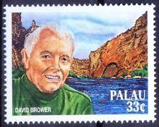 Palau 1999 MNH, David Brower, Environment alist, Friends of Earth
