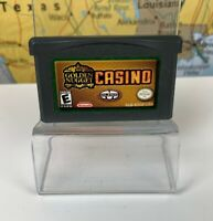 SHIPS SAME DAY GOLDEN NUGGET CASINO GAMEBOY ADVANCED GBA ACCEPTABLE TESTED