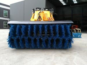 Hysoon Rotary sweeper rotary broom suits mini diggers mini loaders