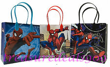 6 PC MARVEL SPIDERMAN GOODIE BAGS PARTY FAVORS CANDY LOOT TREAT BIRTHDAY BAG NEW