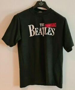 Bootleg Beatles Black T-Shirt 1990s Rare Black M