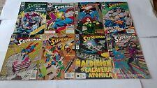 LOTE DE SUPERMAN 1991-1995 NO PUBLICADO POR ZINCO