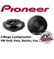 Pioneer TS-G1730F Lautsprecher für Golf,Polo,Fox,Beetle inkl.Adapter