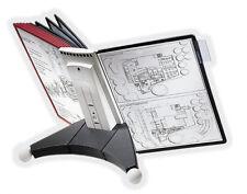 Sichttafelsystem SHERPA® TABLE 10 von DURABLE, Schwarz/rot