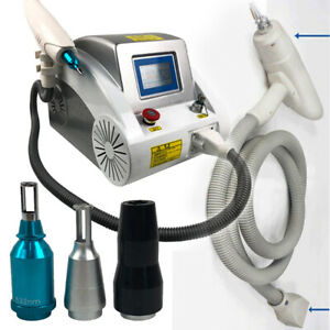 2000MJ Laser Q Switched ND Yag Pigment Spot Freckle Tattoo Remover Beauty Machin