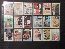 1968 Topps LAUGH-IN Trading Cards Set of 33 VF-/VF+ Rowan and Martin's