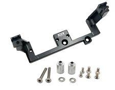KYX CNC Machined Servo Mount for Diff Lock Servos Traxxas TRX-4 Black