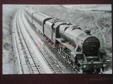 PHOTO  LMS STANIER BLACK FIVE 4-6-0 LOCO 5335 ON THE TROUGHS AT SAWENLEY BRIDGE