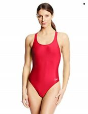 Speedo Women'S Solid Super ProLT One Piece Swimsuit Red 38