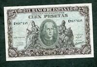 BILLETE 100  PESETAS 1940    SERIE  C 8067095 MBC + EBC -COLON