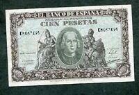 BILLETE 100  PESETAS 1940    SERIE  C 8067095  EBC