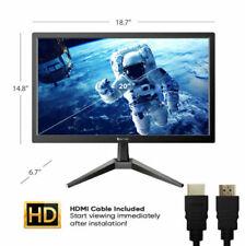 "Ematic 20"" 1600x900 HDMI VGA 75hz LED Monitor ( ECM200) - [LN]™"