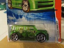 -Hot Wheels Scion xB Race World Green