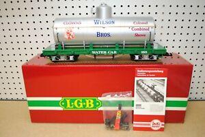 LGB 4080-DG Wilson Bros. Circus Water Tank Car *G-Scale* NEW