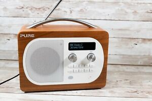 Pure Evoke D4 DAB/DAB+PURE EVOKE D4/FM Radio - Walnut - Very Good Condition