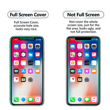 Full Coverage TPU Screen Protector LCD Guard Film For Apple iPhone X