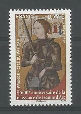 """FRANCIA - 2012 """"Giovanna d'Arco"""" singolo ** em. congiunta col Vaticano"""