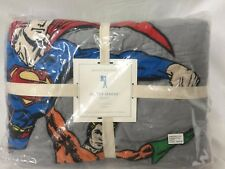 New Pottery Barn Kids Justice League Full/Queen Quilt Superheroes