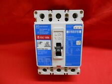 Cutler-Hammer Fdc125 Circuit Breaker 125 Amp 3Pole load tested