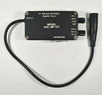Vtg SCHOEPS -10db -20db cut microphone line XLR signal reducer Model ASC-MP-12T