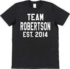 Personalised Team Name & Year T-Shirt Custom Fathers Day Present Daddy Grandad