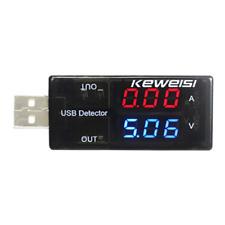 USB Mobile Phone Charger Current Voltage Test Detector Voltmeter Ammeter Tester