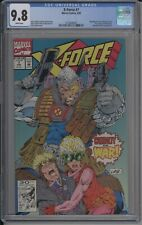 X-Force #7 CGC NM/M 9.8 White Pages (Marvel) Liefeld