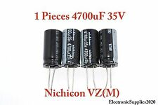 Capacitor Nichicon 4700uF 35v 105C 18x40mm. Low ESR. Radial. US Seller