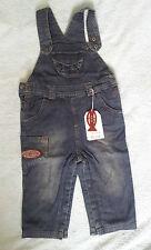 Salopette en jeans doublée coton pour garçon WEEK-END À LA MER - 18 mois - NEUVE