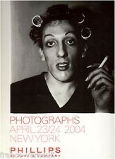 Auction catalog Phillips de Pury Photo Photographs 23/24 APRIL 2004 NEW YORK