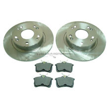 for HONDA ACCORD 2.2 TYPE R 1999-2003 REAR BRAKE DISCS & MINTEX PADS SET NEW