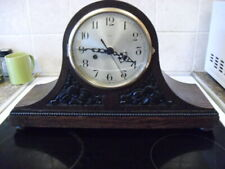 ONE of 10 vintage   clocks converted to quartz battery movement,REDUCED to £55