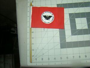 4x6 united farm workers flag small UFW flag license plate topper huelga flag