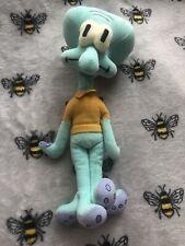 H Spongebob Squarepants Squidward Tentacles Plush Soft Toy Teddy Ty Beanie Baby
