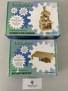Timberkits x 2 Accordion Player Automaton / Battery Drive Kit BNIB #2219